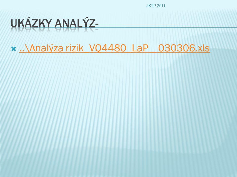 ..\Analýza rizik_VQ4480_LaP _ 030306.xls..\Analýza rizik_VQ4480_LaP _ 030306.xls JKTP 2011