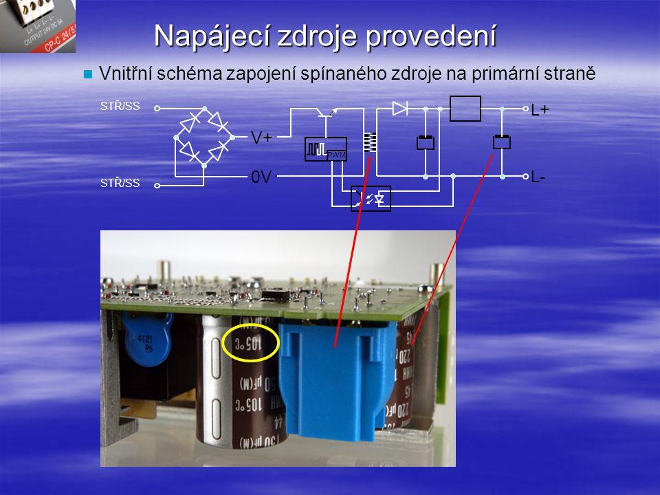 Spínané zdroje - výstupní mód Výkonová rezerva CP-S/C 24/5.0 I výst / T okol křivka 24VDC Zátěž 7.25A at 40°C Mezi 40°C a 60°C například 6A při 50°CPokles 2.5% na °C do 70°C Výkonová rezerva