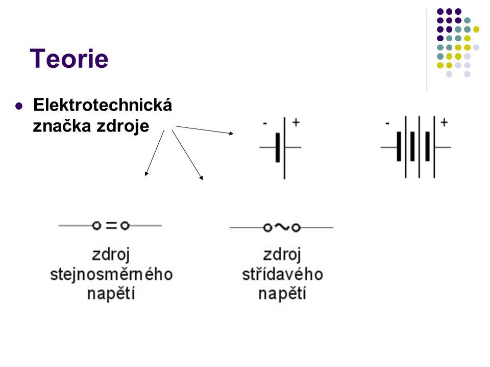 Rozdělení zdrojů podle principu vzniku elektrické energie chemické zdroje (galvanické články) mechanické zdroje (elektrodynamické) - dynamo, alternátor tepelné zdroje - termočlánek fotoelektrické zdroje – fotoelektrický článek palivové články fyziologické zdroje - elektroplaxy