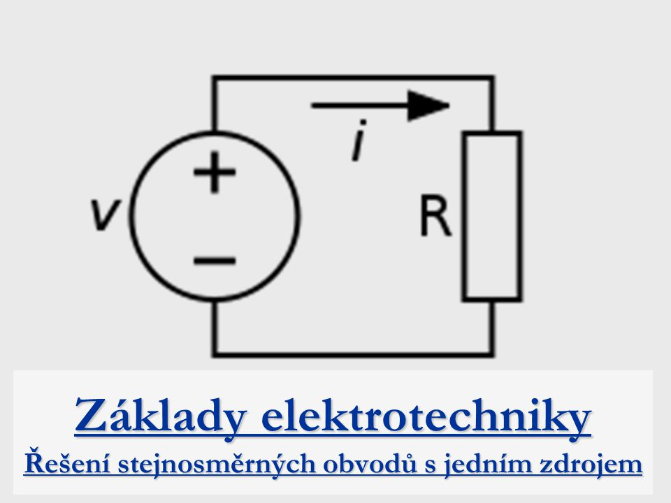 Proudový zdroj I k -ideální zdroj proudu – velikost proudu nezávisí na zátěži R i -vnitřní odpor proudového zdroje R-zátěž I z -proud zátěže U-svorkové napětí I k -I z -proud vnitřním odporem U RiRi I k -I z IkIkIkIk *u zdroje proudu je hlavním parametrem proud dodávaný do obvodu *zdroj proudu by neměl pracovat naprázdno (proud zátěže je nulový, zdroj nemá smysl) *v některých případech zdroj proudu nesmí pracovat naprázdno  hrozí nebezpečný nárůst napětí *používá se zejména v elektronických obvodech IzIzIzIz R