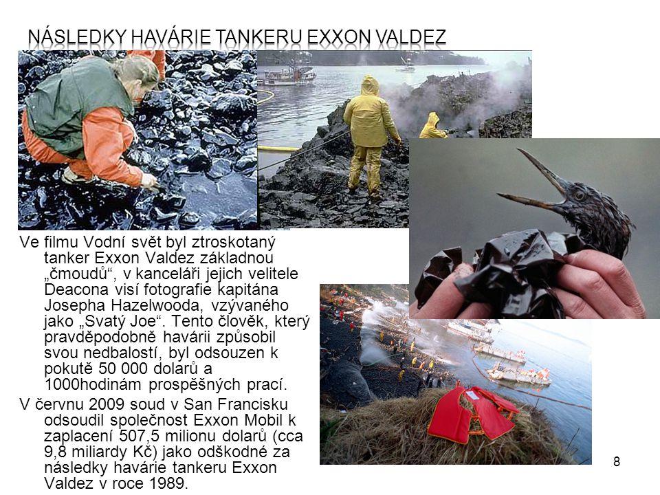 9 Zpracování ropy - postup  v rafinériích  zařízení: rektifikační kolona  postup zaleží na složení ropy, ale také na tom, jaké produkty chceme z ropy získat,  odstranění nečistot (tzn.