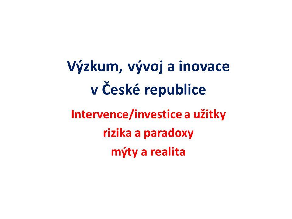 Stát.Akademie věd ČR. Resortní výzkumné ústavy. Vysoké školy.