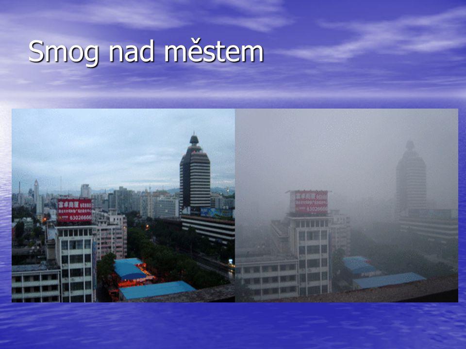 Smog nad městem
