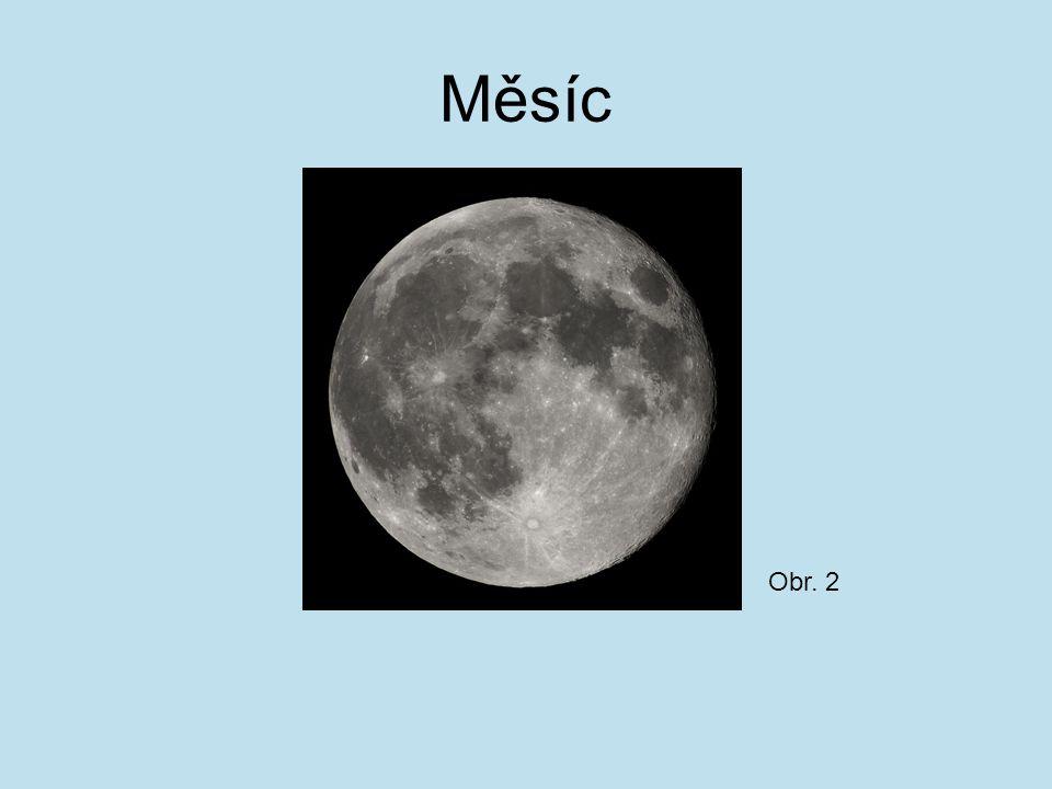 Měsíc Obr. 2
