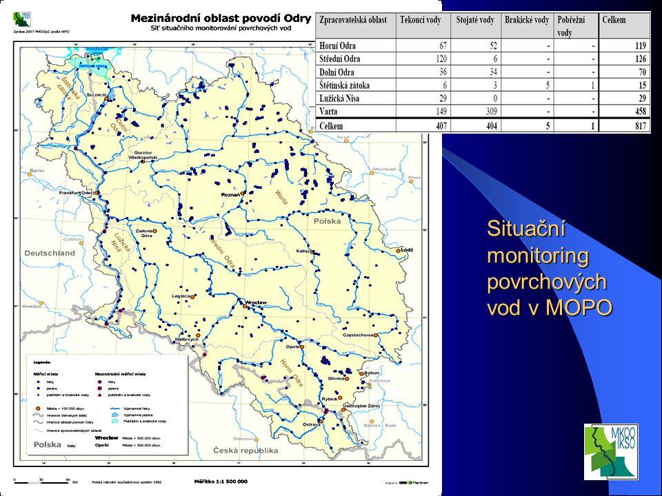 Interní seminář VÚV TGM, v.v.i. Praha 20.3.2008 Situační monitoring povrchových vod v MOPO