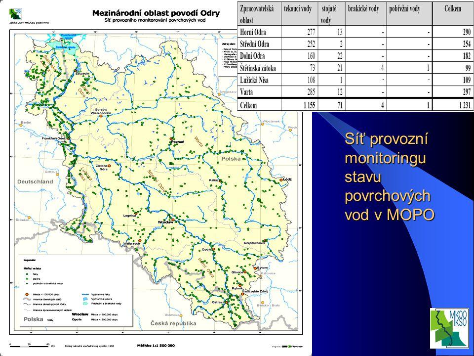 Interní seminář VÚV TGM, v.v.i. Praha 20.3.2008 Síť provozní monitoringu stavu povrchových vod v MOPO