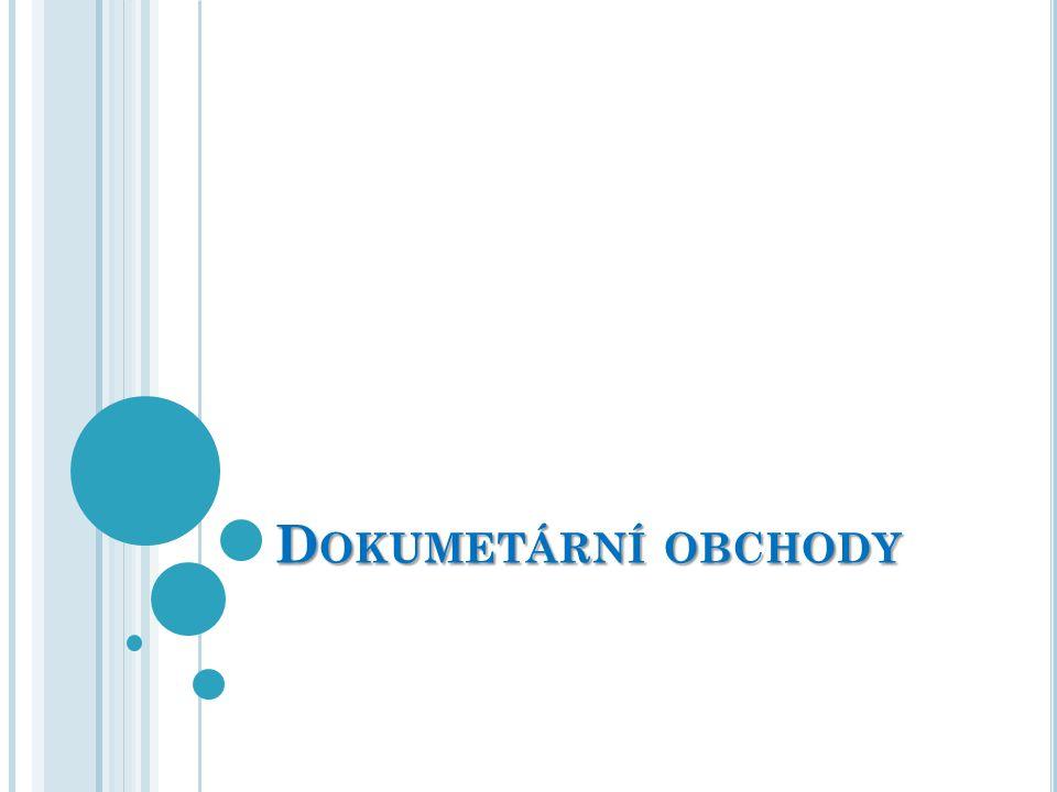 K ONTROLA DOKUMENTŮ Kontrola dokumentů je upravena Standardem pro přezkoumaní dokumentů.