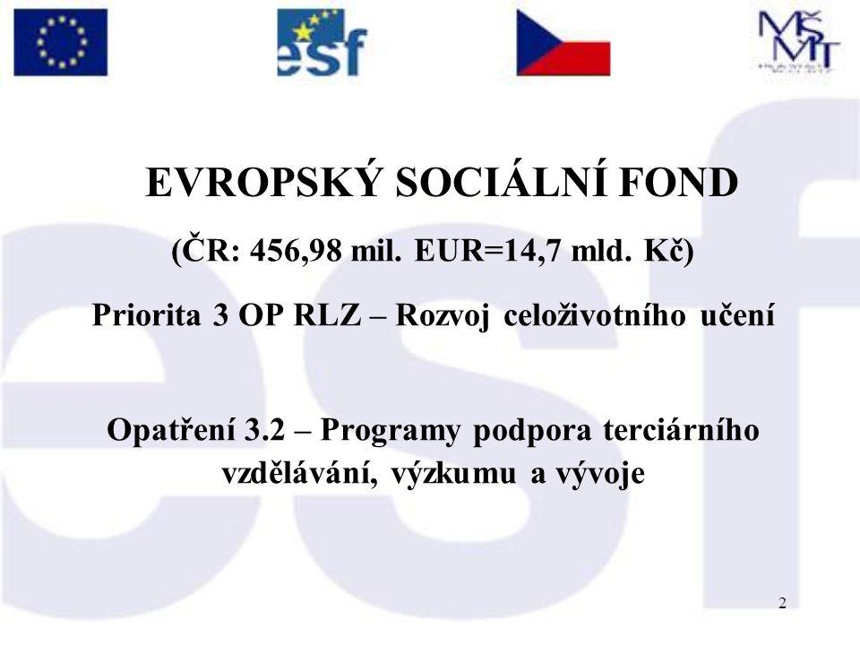 3 Tento projekt navazuje na: Lisabonskou dohodu (1997), Bolonský proces, zahrnující v širší souvislosti Sorbonskou deklaraci (1998), Bolonskou deklaraci (1999) Setkání ministrů v Praze (2001), které se zabývají harmonizací výstavby Evropského systému vysokého školství v duchu budování tzv.