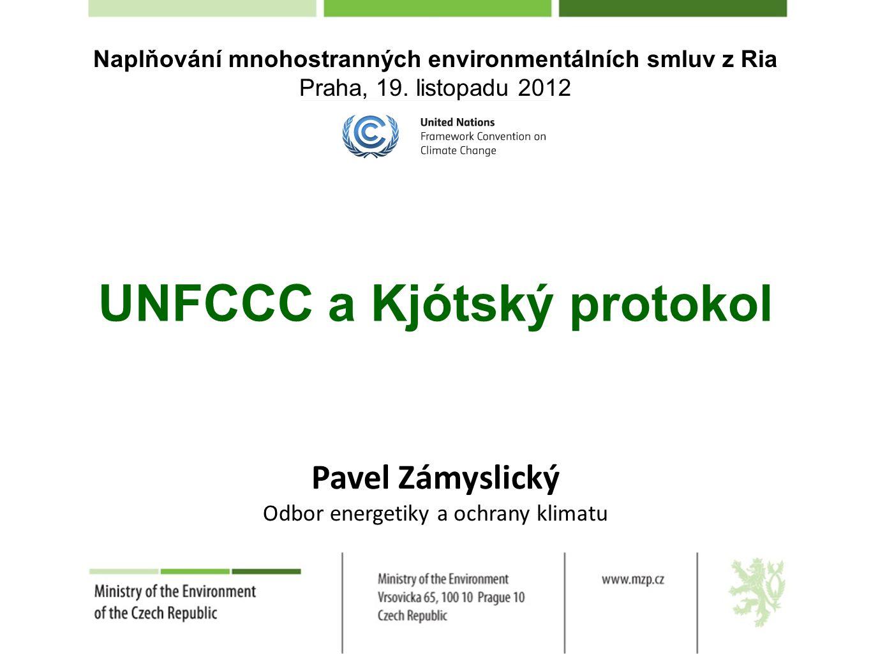 Základní informace Ú mluva byla sjednána na Konferenci OSN o životním prostředí a rozvoji 9.