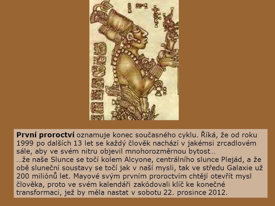 Sedm proroctví starých Mayů Hudba: Kenny G - Eternal Light