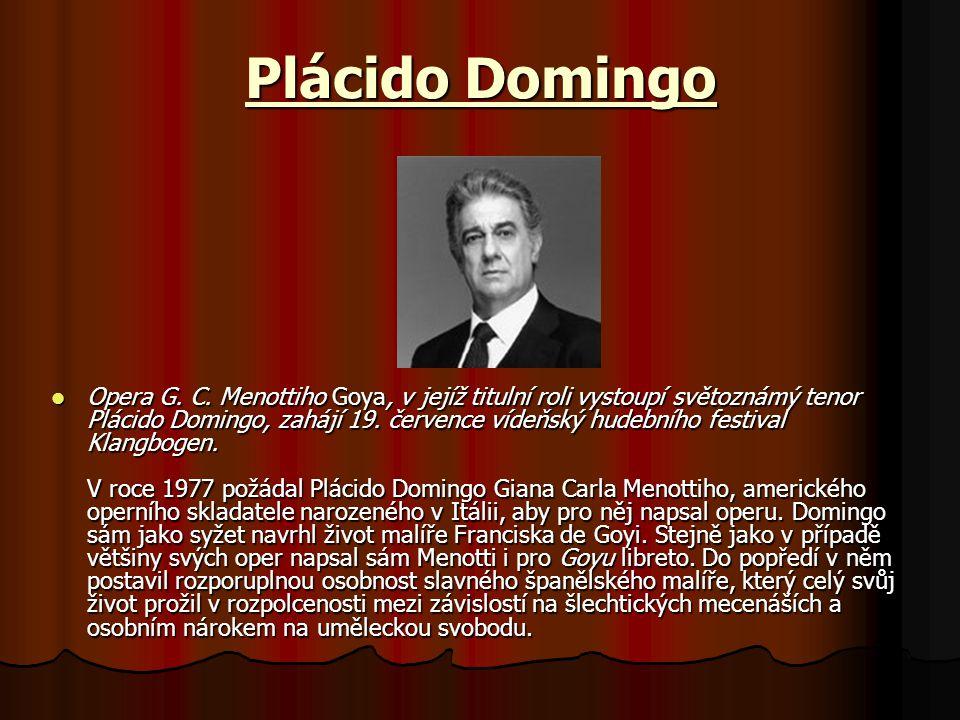 Plácido Domingo Opera G.C.