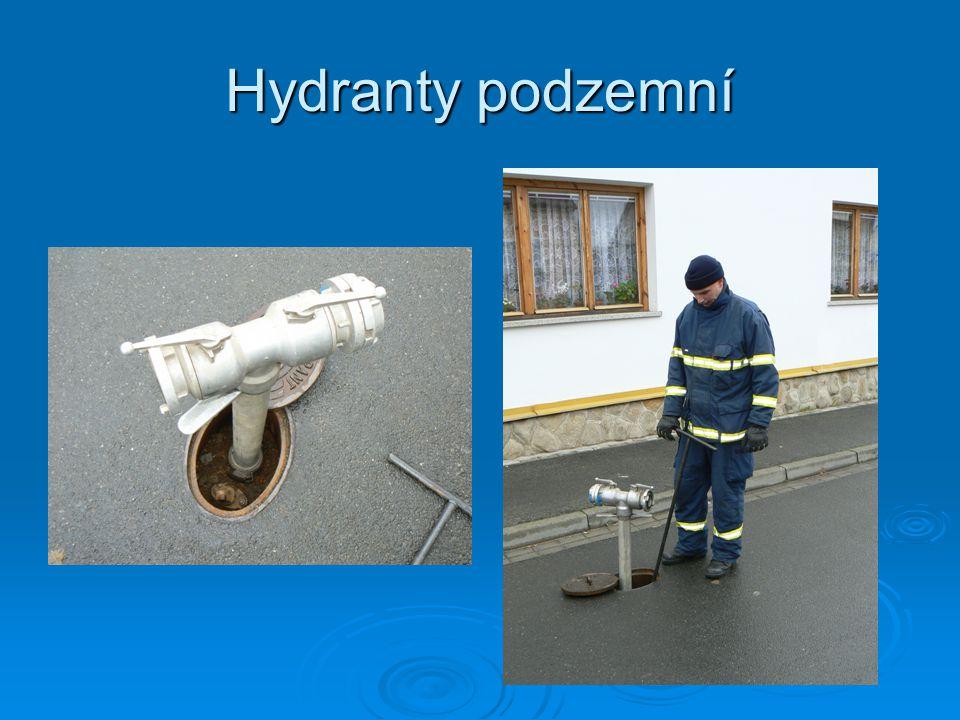 Způsoby dopravy vody na velké vzdálenosti  přečerpávání vody do pomocných nádrží  dodávka vody ze stroje do stroje  doprava vody pomocí CAS (kyvadlová dopr.)  kombinovaná doprava vody