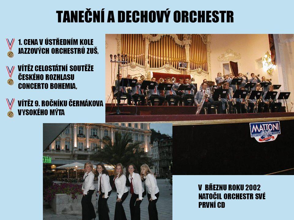 TANEČNÍ A DECHOVÝ ORCHESTR 1.