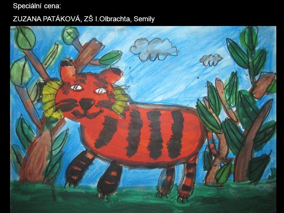 Speciální cena: ZUZANA PATÁKOVÁ, ZŠ I.Olbrachta, Semily