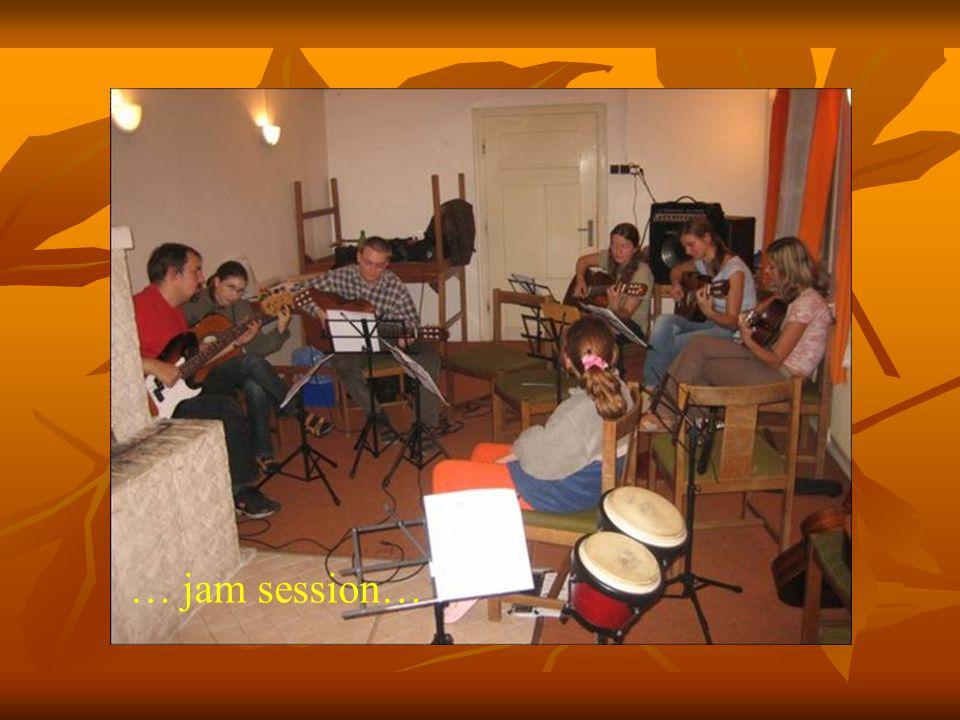 … jam session…