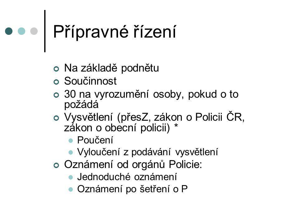 * vysvětlení SOPolicie ČROP Úprava Předvedení Poř.