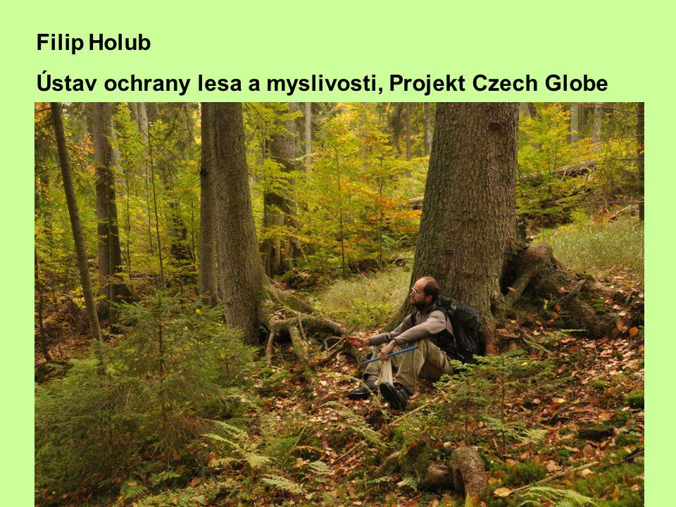 Filip Holub Ústav ochrany lesa a myslivosti, Projekt Czech Globe