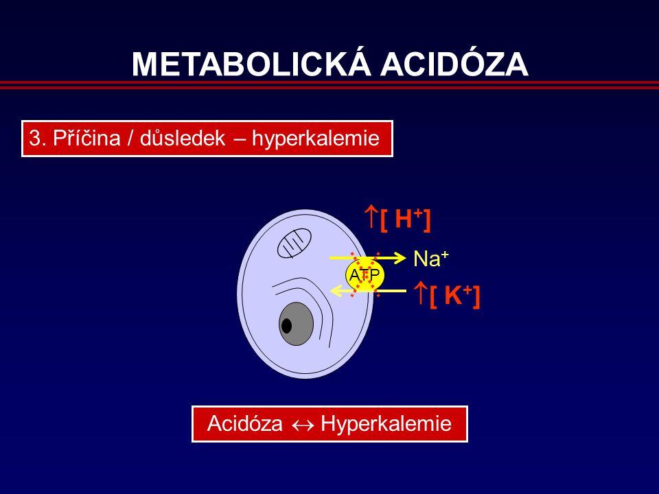 METABOLICKÁ ACIDÓZA 3.