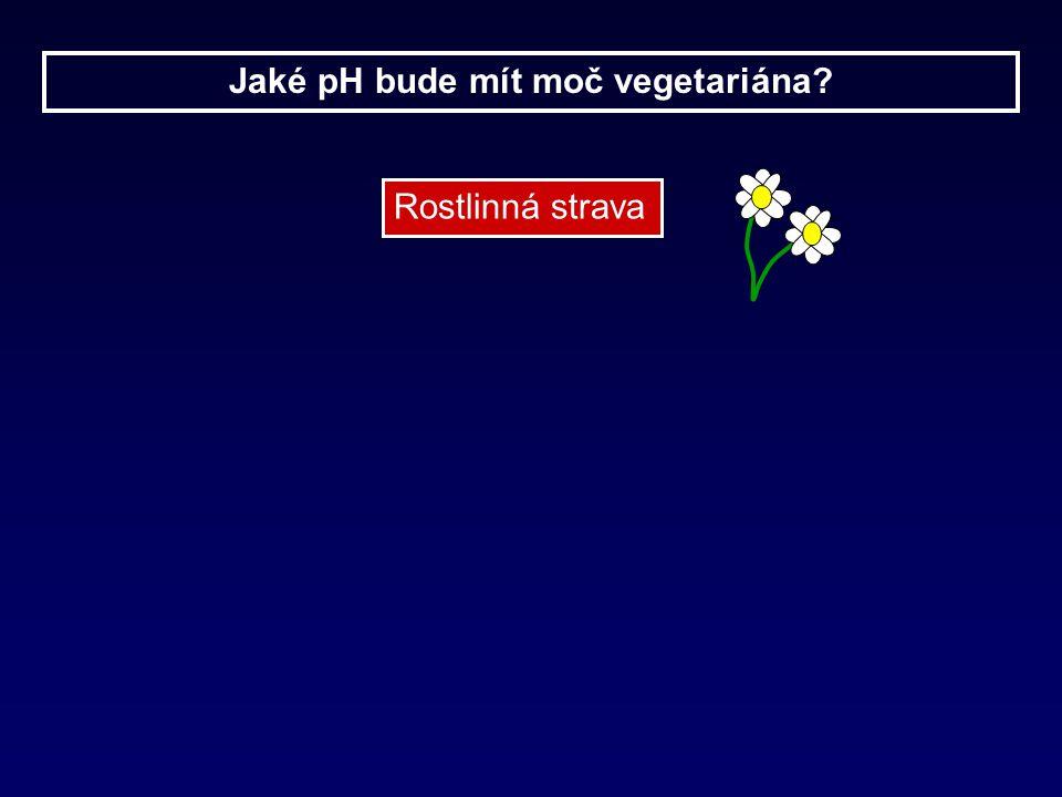 Jaké pH bude mít moč vegetariána? Rostlinná strava