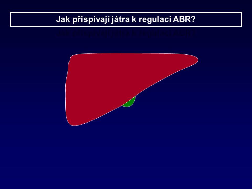Jak přispívají játra k regulaci ABR?