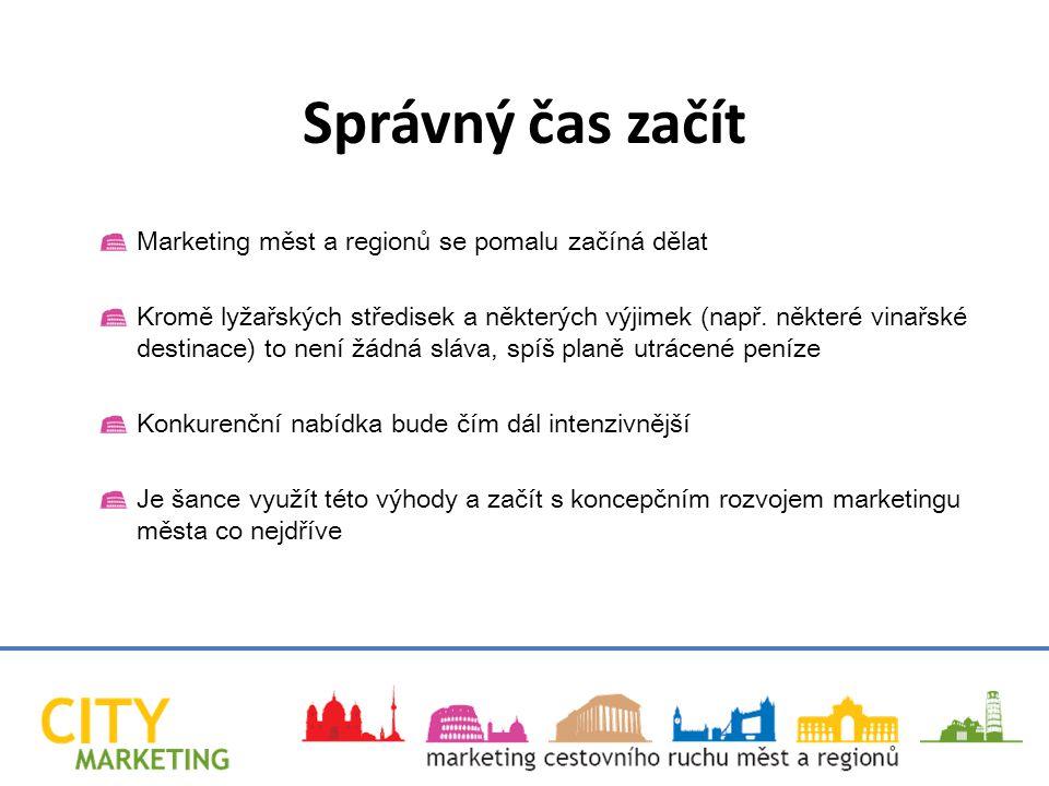 Marketing měst a regionů se pomalu začíná dělat Kromě lyžařských středisek a některých výjimek (např.