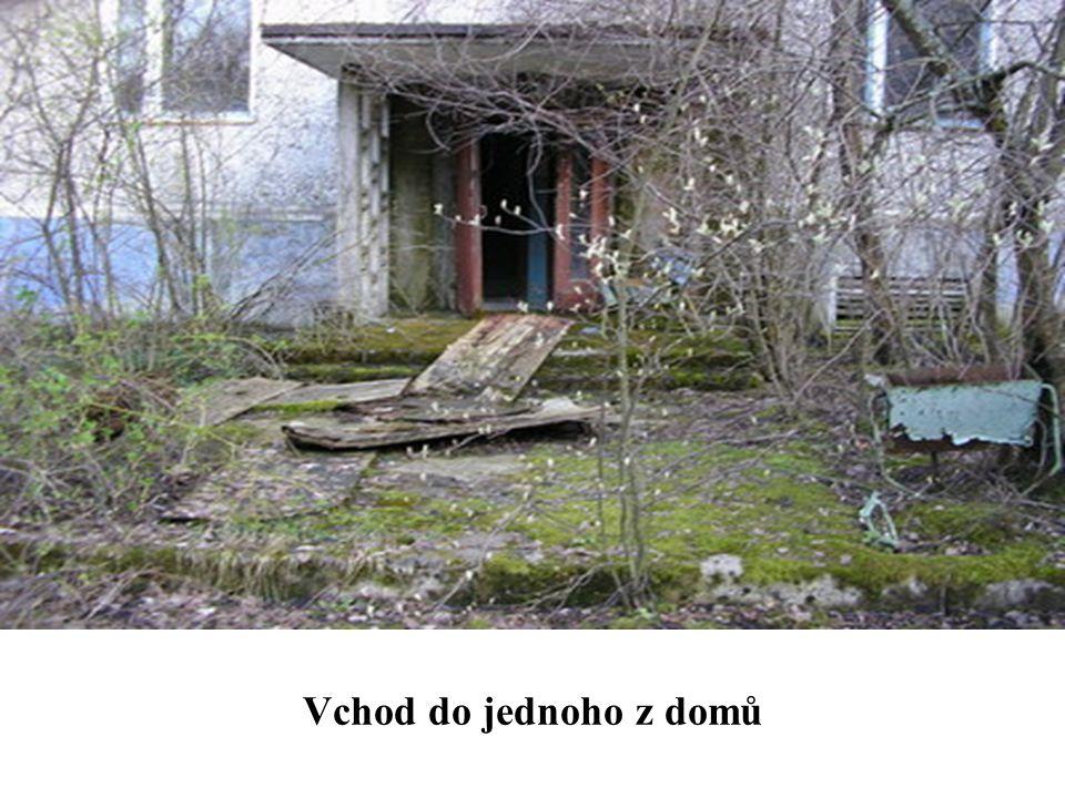 Vchod do jednoho z domů