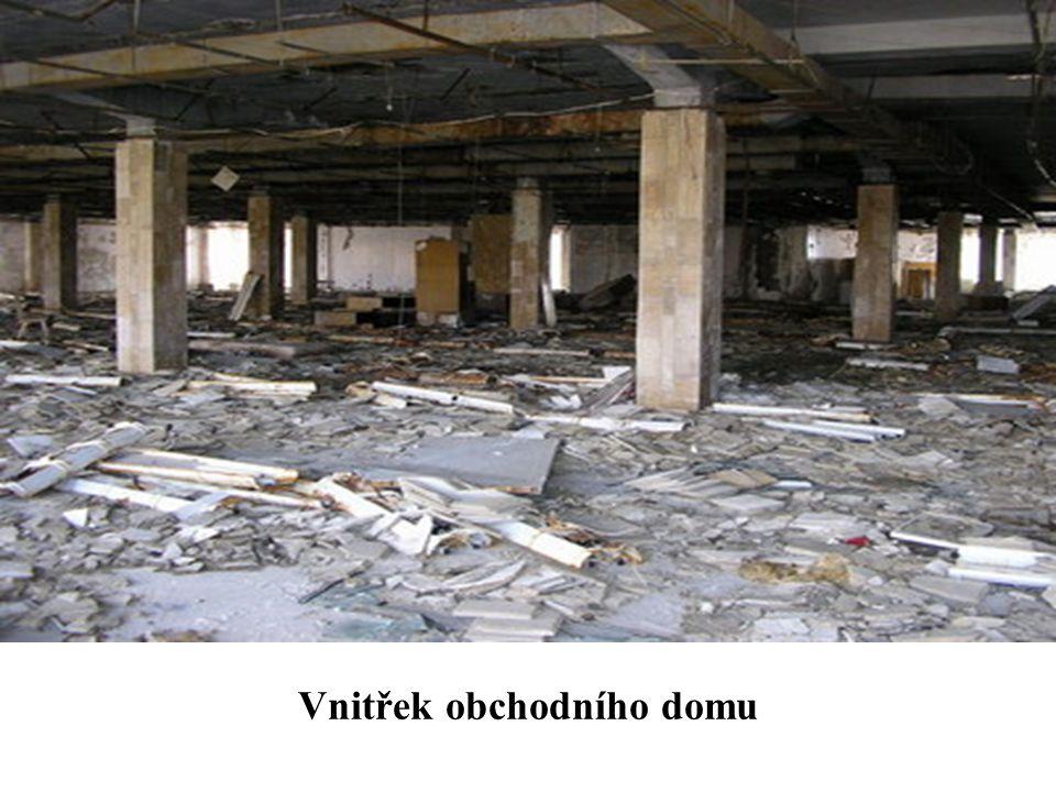 Vnitřek obchodního domu