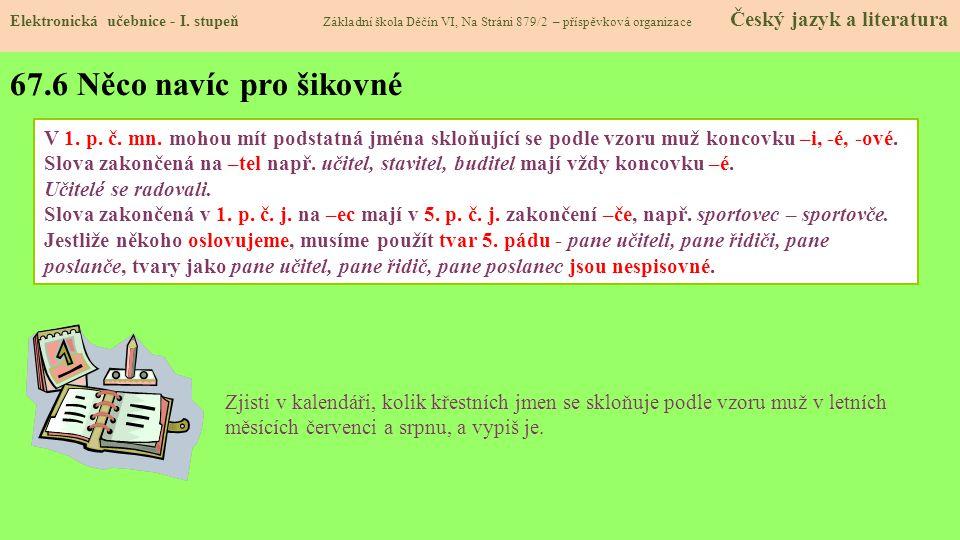 67.7 CLIL Elektronická učebnice - I.