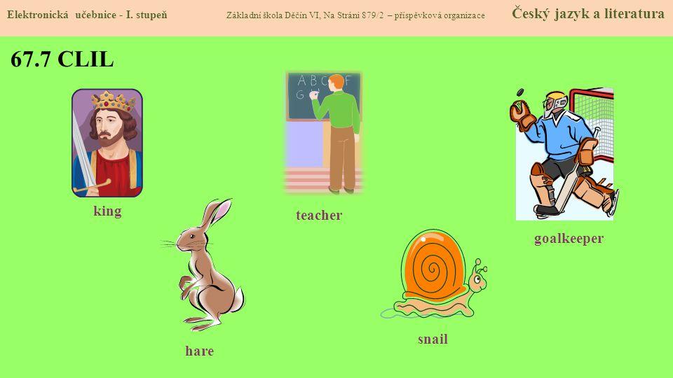 67.8 Test znalostí Správné odpovědi: 1.c 2.b 3.b 4.d Test na známku Elektronická učebnice - I.