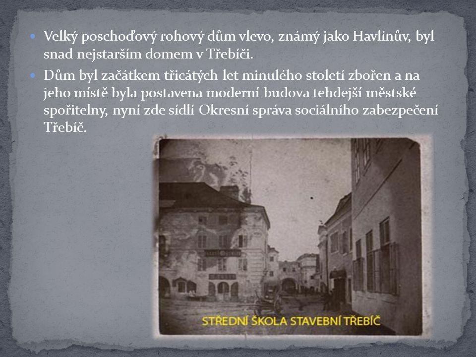 30. léta 20. století – novostavba Městské spořitelny