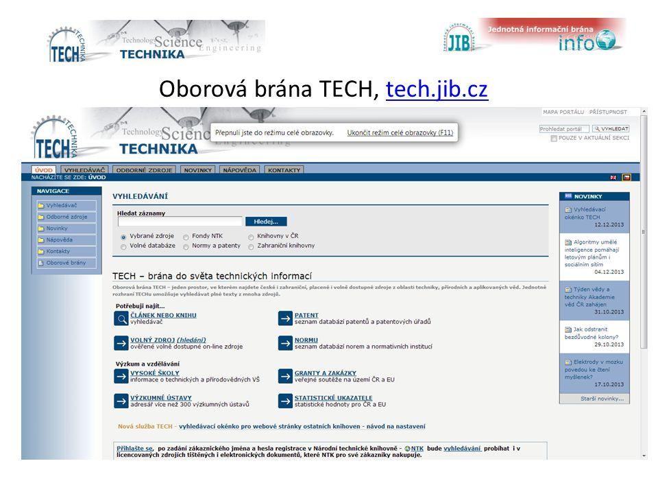 Oborová brána TECH, tech.jib.cztech.jib.cz
