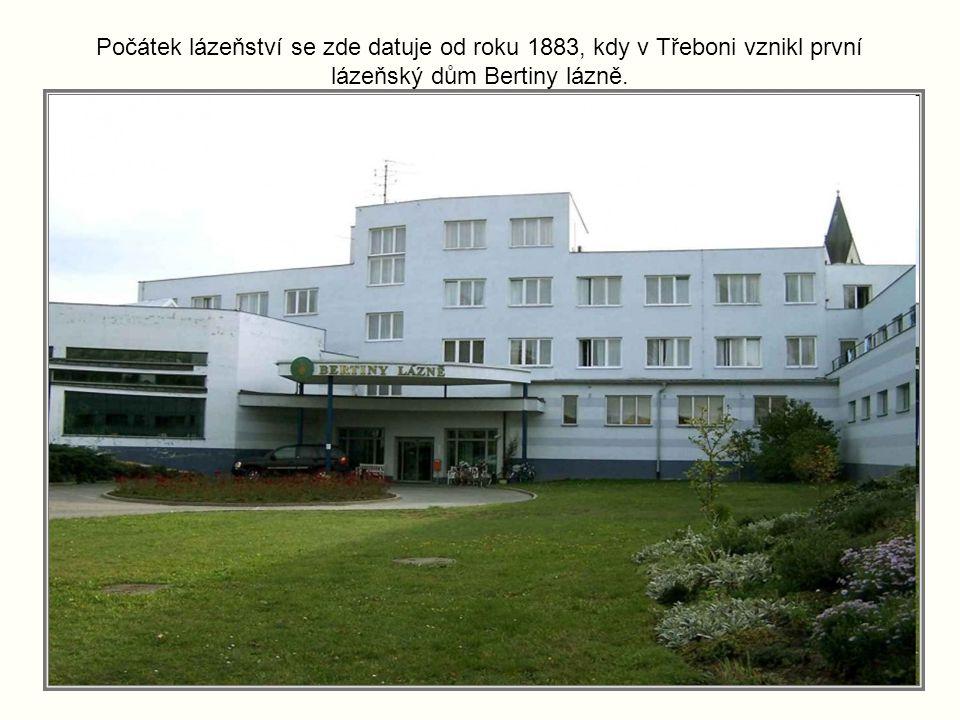 Lázně v Třeboni jsou odjakživa spjaty s přírodním léčivým zdrojem, a to slatinou a rašelinou, jenž se v tomto regionu nachází. Vyžívají se pro léčbu p