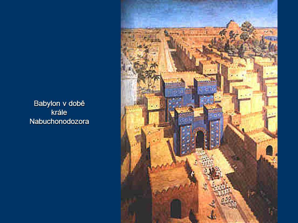 Ruiny paláce krále Nabuchonodozora v Babylónu