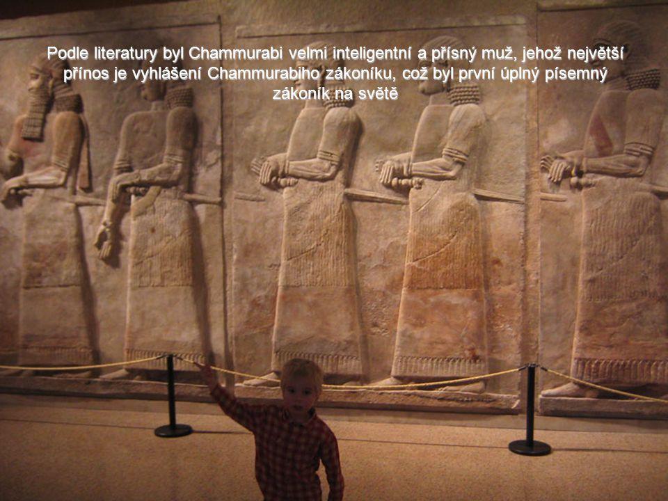 Nejvýznaměnjším králem v době starého Babylonu je šestý král Chammurabi (1792 př.nl. - 1750 př.nl). To on vytvořil říši Babylon