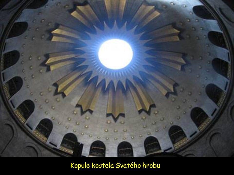 Vía Dolorosa – místo kde bylo dočasně uloženo tělo Ježíše po jeho očistě (umytí)