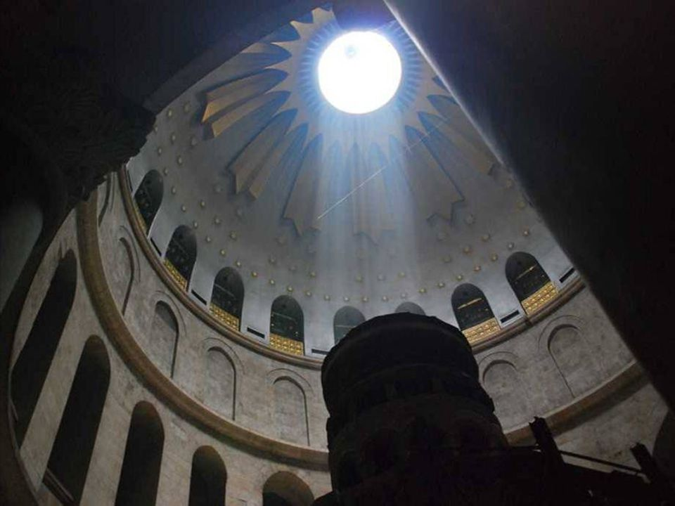 Kopule kostela Svatého hrobu