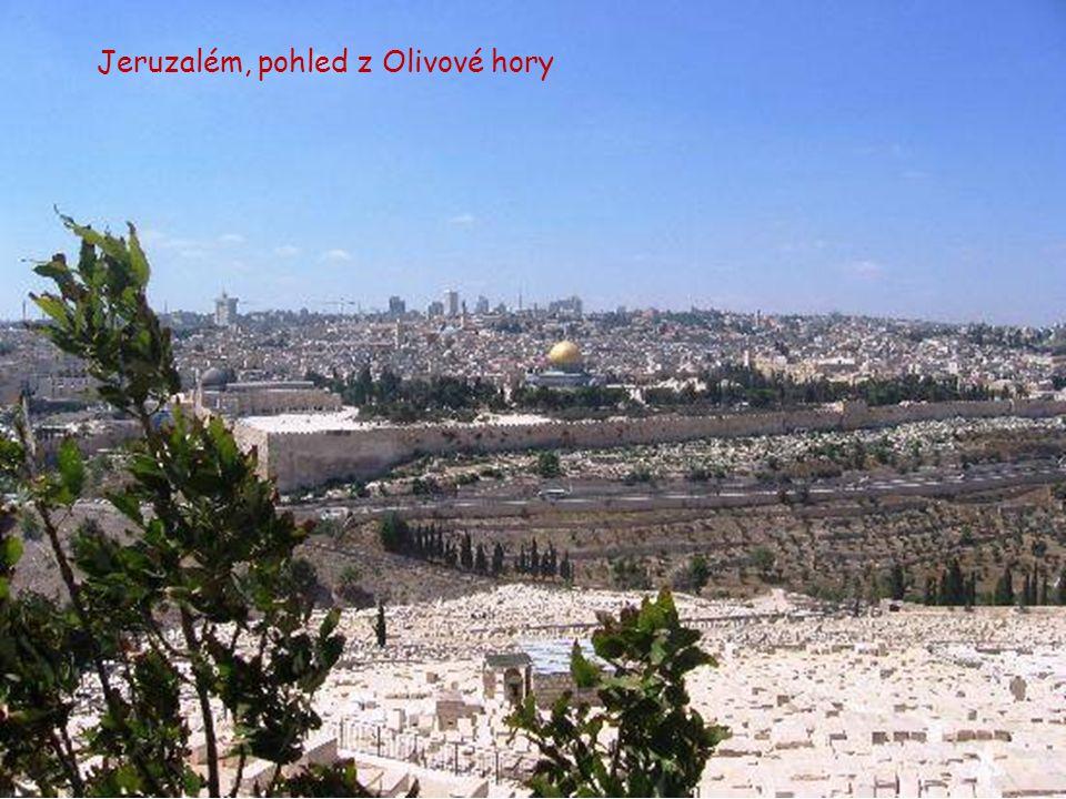 Jeruzalém – pohled na město
