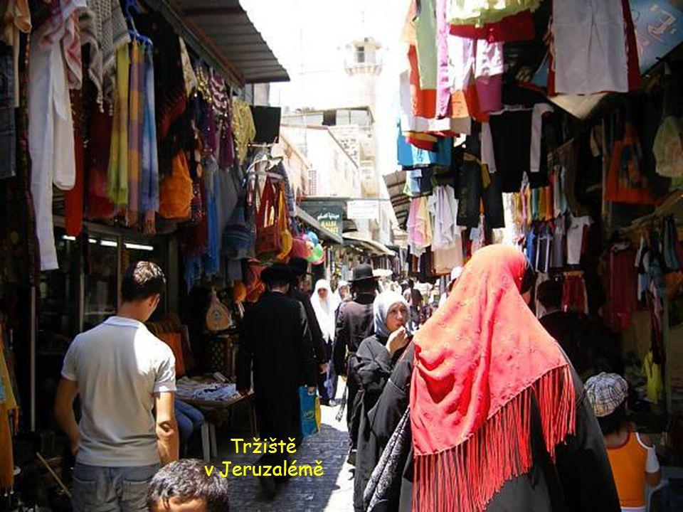 Další spleť uliček V Jeruzalémě