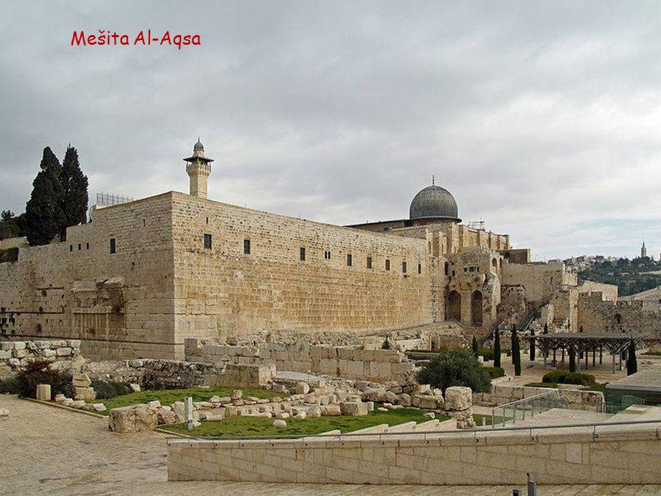 Jeruzalém, pohled z Olivové hory
