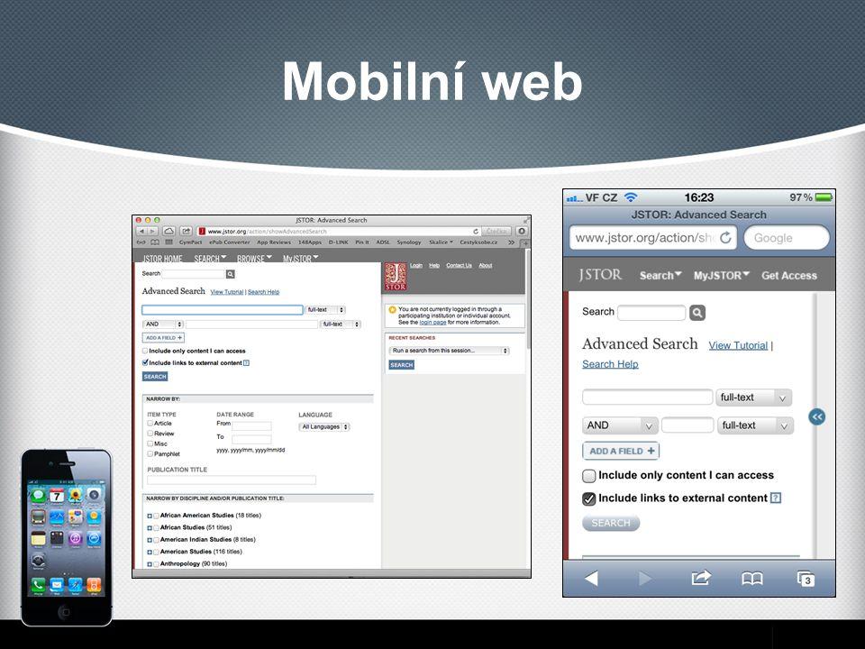 Mobilní web