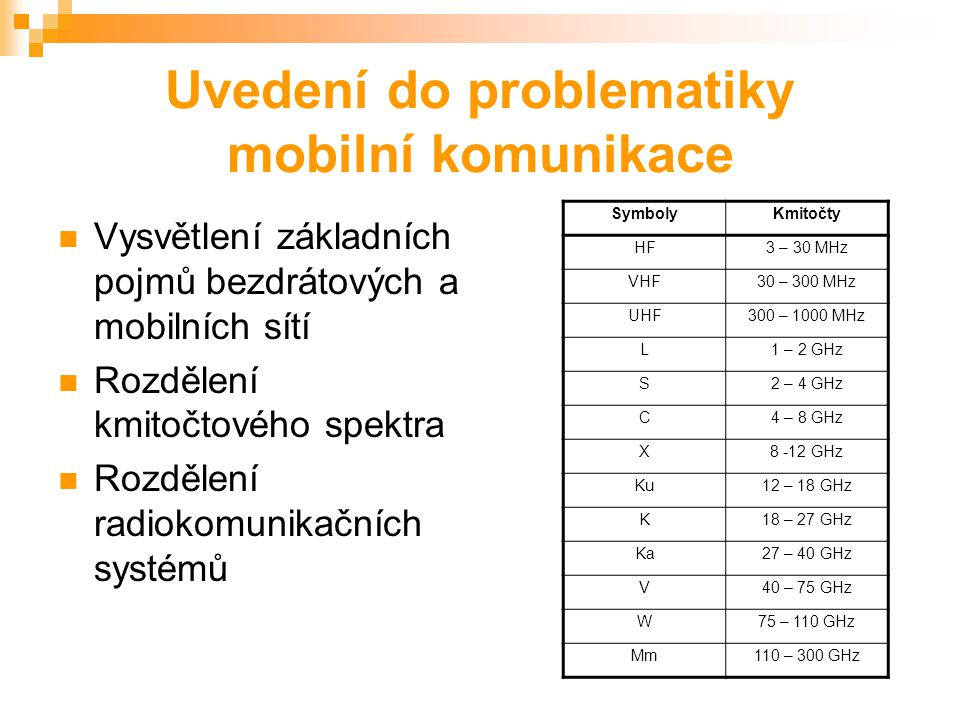 Bezpečnost mobilních telekomunikačních systémů Aleš Vincenc