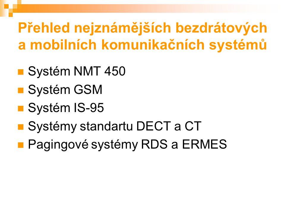 Základní koncepce a funkce radiokomunikačních systémů Systémy s mnoho- násobným přístupem  FDMA  TDMA  CDMA  ALOHA Způsoby přenosu (simplex, poloduplex, duplex)