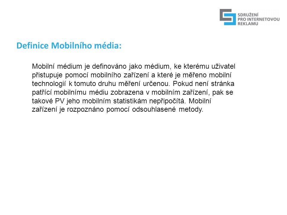 Reální uživatelé: Zobrazené mobilní stránky Návštěvy uživatelů RU pomocí zahashovaného MSISDN obsaženého v HTTP requestu ve spolupráci s operátory