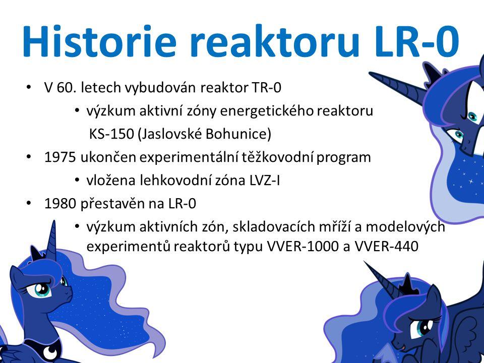 Historie reaktoru LR-0 V 60.