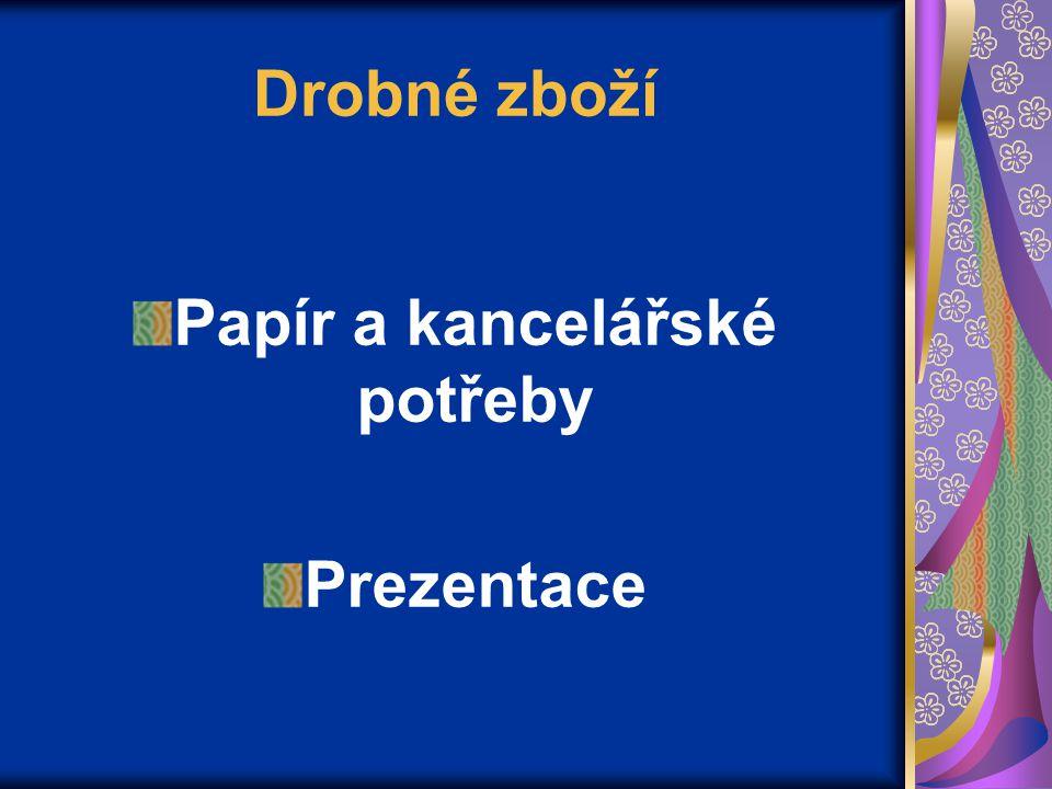 Výrobky z papíru Polygrafické materiály Kalendáře: stolní kapesní 9.