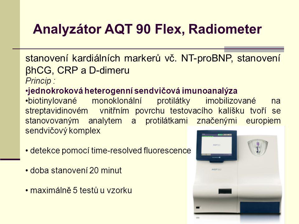 Analyzátor AQT 90 Flex, Radiometer stanovení kardiálních markerů vč.