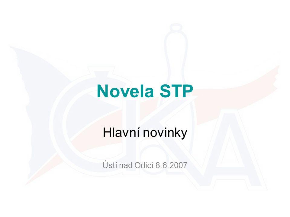 Novela STP Hlavní novinky Ústí nad Orlicí 8.6.2007