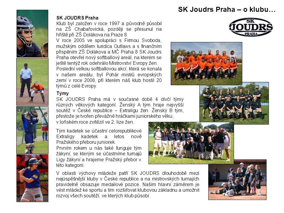 SK JOUDRS Praha Klub byl založen v roce 1997 a původně působil na ZŠ Chabařovická, později se přesunul na hřiště při ZŠ Dolákova na Praze 8.