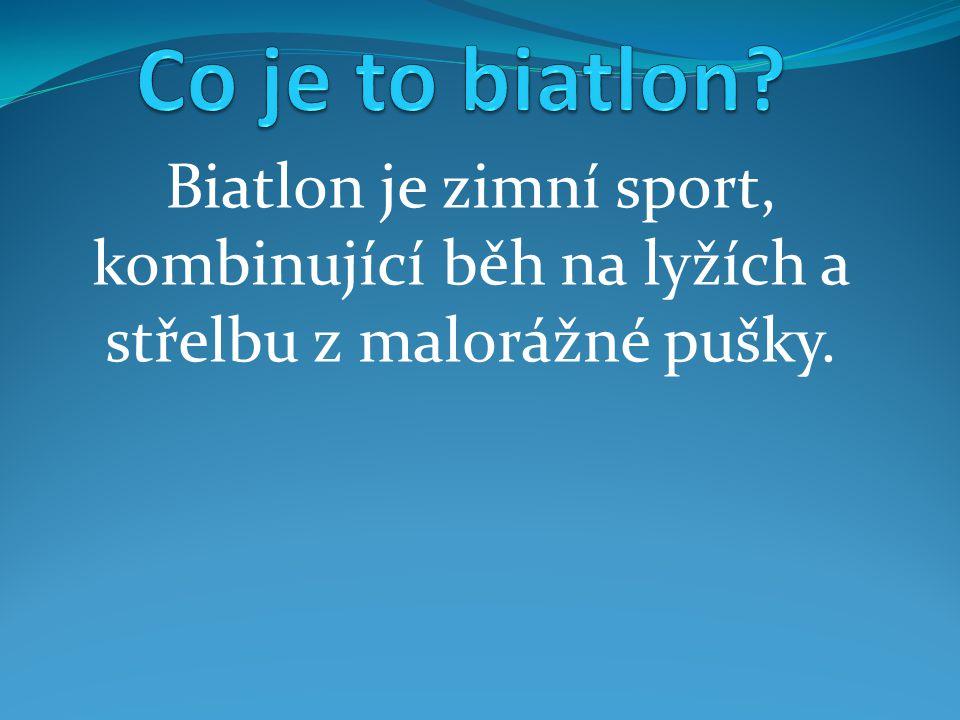 Počátky biatlonu sahají do středověku, kdy se však jednalo spíše o přežití, než o sportovní vyžití, jako je tomu nyní.