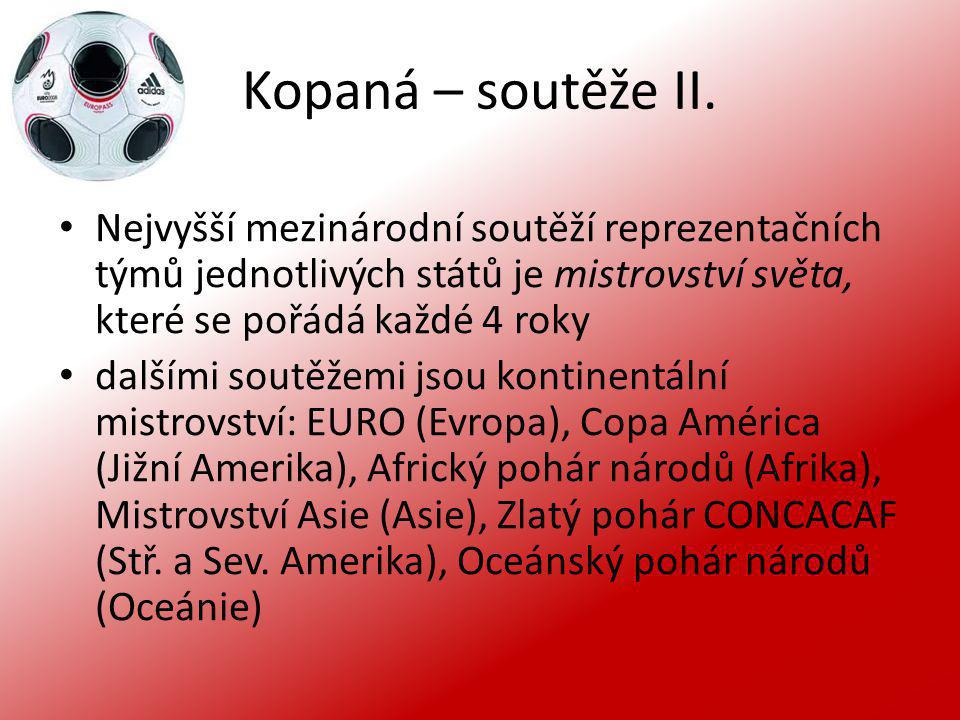 Kopaná – soutěže III.